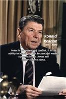40th American President: Ronald Reagan: Peace