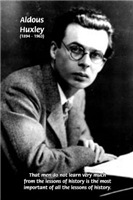 History of Mankind: Aldous Huxley