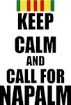 Keep Calm call for Napalm