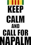 Keep Calm call for Napalm