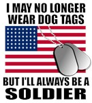 I may no longer wear dog tags, but I'll always be