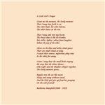 A Little Girl's Prayer