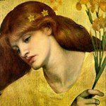 Sancta Lilias by Rossetti