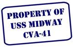 Property of USS Midway, CVA-41