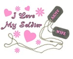 Dog Tags - Army Wife