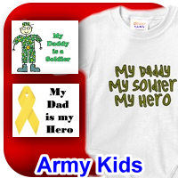 Items for Army Kids