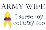 Army Wife Serves Items