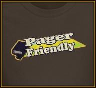 Pager Friendly
