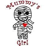 Mummy's Girl Cute Halloween Apparel
