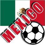 World Soccer MEXICO Team T-shirts