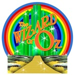 The Wizard of Oz with Rainbow Tshirts
