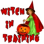 Witch in Training Cute Halloween T-shirt
