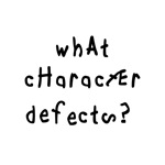 What Character Defects?