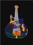 Stylized Electric Bass Guitar