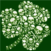Shamrock Skull St Patricks Day t-shirts