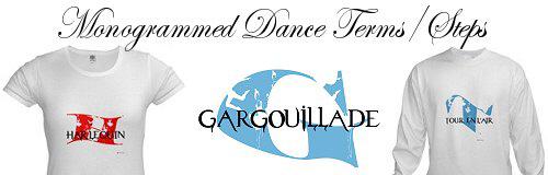 Monogrammed Ballet Steps Terms
