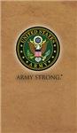Army Seal on Desert Tan