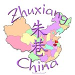Zhuxiang, China Map