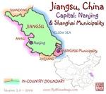 Jiangsu, China mini Map