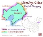 Liaoning, China mini Map