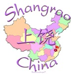 Shangrao Color Map, China