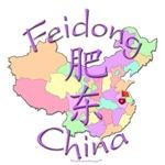 Feidong China Color Map
