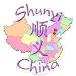 Shunyi Color Map, China