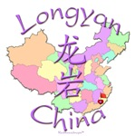 Longyan China Color Map
