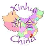 Xinhui China Color Map
