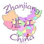 Zhanjiang China Color Map