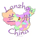 Lanzhou China Color Map