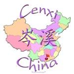 Cenxi China Color Map