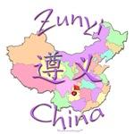 Zunyi China Color Map