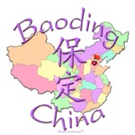 Baoding China Color Map