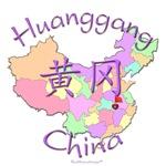 Huanggang Color Map, China