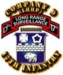 Army - CO D - 17th Infantry (LRSU)