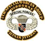 5th SFG Airborne Bdge - Vietnam Vet