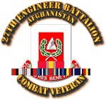 27th Eng Bn w Afghan Cbt Vet