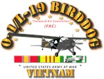 L19 Bird Dog w VN Svc Ribbons