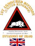 UK - 1st Armoured Division - Iraq Invasion