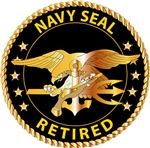 Navy - SOF - Navy Seal Retired - Black