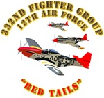 332 Fighter Group  - Red Tails