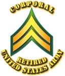Army - Corporal E-4 - Retired
