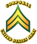 Army - Corporal E-4 w Text