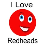 I Love Redheads Light