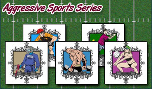 Aggressive Sports Series T-Shirts and Gifts