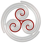 Triple Spiral Circles
