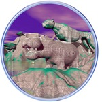 3D Stone Animals