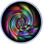 3D Spiral Psychedlic