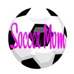 Soccer Mom Soccer Ball - Hot Pink